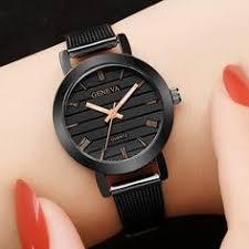 <b>Женские</b> золотые минималистские стальные кварцевые <b>часы</b> ...