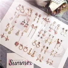 Drop Earrings - <b>Korean Fashion</b> Earrings Retailer from Mumbai