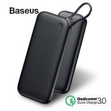 <b>Baseus 20000mAh Power Bank</b> Double Quick Charge 3.0 USB ...