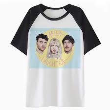 paramore <b>Hot sale 2018 summer</b> pakaian t-shirt novelty design ...