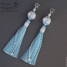 Синие <b>серьги</b>, <b>Серьги</b> с жемчугом, <b>Серьги</b> с кристаллами <b>сваровски</b>