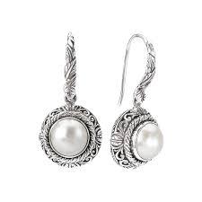 Eleganza Ladies <b>Fashion Pearl Earrings</b> - Diamonds Of The Kingdom