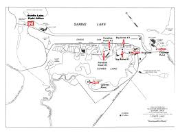 vicksburg district > missions > recreation > sardis lake > sardis sardis lake brochure sardis lower lake map pavilions