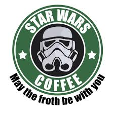 <b>Star Wars Coffee</b> - <b>May</b> the froth be with you Star Wars T-Shirt shirt