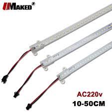 <b>5pcs</b> LED Bar Light AC220v High Bright <b>4W 5W</b> 8W SMD2835 LED ...