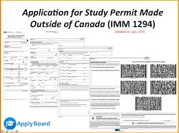 how to fill application form for a study permit made outside how to fill application form for a study permit made outside imm1294 updated2015