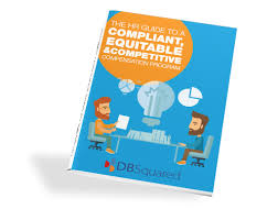 dbsquared hr guide to compliant equitable and competitive compensation program guidebook hr consultant job description