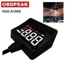 <b>A100 Car HUD</b> Head Up Display OBD2 II ECU OBD2 Overspeed ...