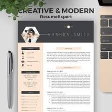 ideas about cv template on pinterest   resume cv  resume and    creative resume template for word   and  page resumes   cover letter