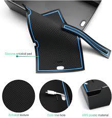 CDEFG Glove Box Armrest <b>Multifunctional</b> Storage for Kona <b>Electric</b> ...