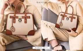 DASEIN Women Handbags Top Handle Satchel ... - Amazon.com