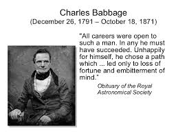 Charles Babbage Quotes. QuotesGram