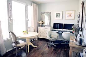 chic home office decor: view in gallery chic home office for a girl feminine home office designs and how to pull it off