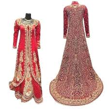 Red Small , <b>Large Ladies</b> Ethnic Gown, Rs 3000 /piece, <b>U S Fashion</b> ...