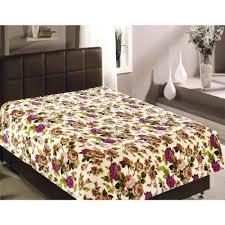 Плед Полутораспальный Absolute, Цветы, 150*200 См, Текстиль ...