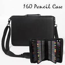 Leather (<b>PU</b>) Pencil Case <b>160</b> Pencil Slots in 2019 | Art Tutorials ...