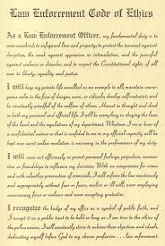 law enforcement code of ethics essay essay code of ethics bryan delk 1993