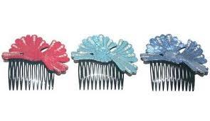 Women's <b>Ornate</b> Fancy Leaf Feather Crystal <b>Sparkle</b> Hair Side ...