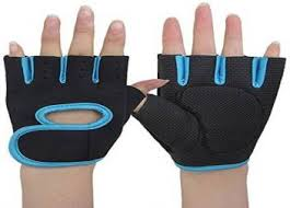 Mobidezire <b>Cycling Gloves</b> For -Men Black Blue <b>1 pair</b> Cycling ...