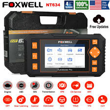 <b>Foxwell Nt634 Obd2</b> EOBD Auto Diagnostic <b>Scanner</b> Code Reader ...