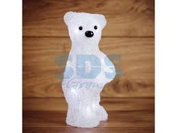 "Акриловая <b>светодиодная фигура</b> ""Медвежонок"" 12х22х13 см, 4,5 ..."