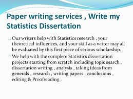 Thesis statistics help   Custom professional written essay service