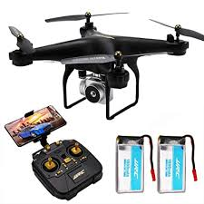 <b>JJRC</b> H68 <b>RC</b> Quadcopter Drone with Camera, 40Mins Flight Time ...