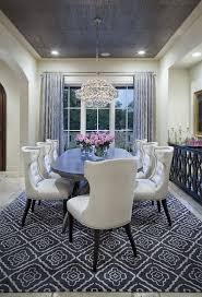 dining room chair sets rolling leather cream colored dining room with grey rug curtains and ceiling