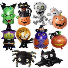 Mini <b>Halloween Balloons Spider</b> Skull Globos Halloween ...