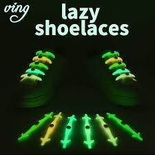 <b>12pcs</b>/<b>Set</b> VING Silicone Light up Fashion <b>Luminous</b> Shoelaces ...