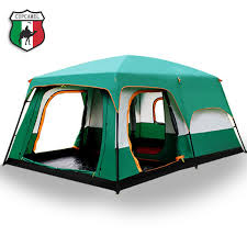 Tent 8 12 Person outdoor New big space camping outing two ...