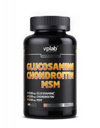 <b>Глюкозамин</b>, <b>хондроитин</b>, MSM - купить 180 таблеток, VPLab ...