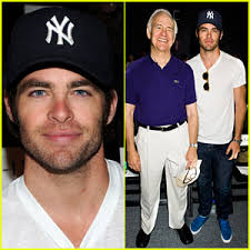 Chris Pine brings along his dad, actor Robert Pine, to sit front row at the Rebecca Minkoff Spring 2012 show during Mercedes-Benz Fashion Week held at The ... - chris-pine-dad-robert-pine