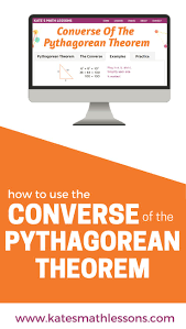 best images about pythagorean theorem converse of the pythagorean theorem