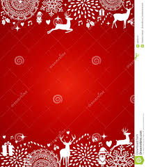 merry christmas elements red postcard template vector file merry christmas elements red postcard template vector file