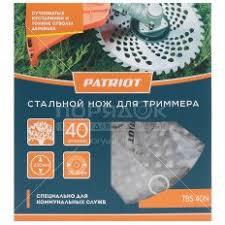 <b>Нож для триммера Patriot</b> TBS40N 40 зубцов, 230х25.4 мм ...