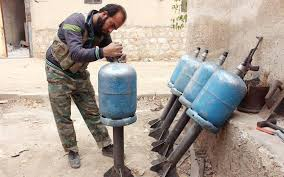 Image result for Barrel Bombs PHOTO