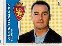 CROMO 06-07 LIGA ESTE VICTOR FERNANDEZ ( ZARAGOZA ). (Haga su oferta sobre este lote) NUNCA PEGADO - 24554957
