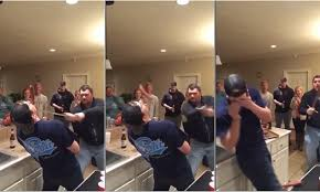 Man slices friend's nose off with a sword in video after bet | Daily ...
