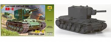 <b>Сборная модель Звезда</b> 3608 <b>Советский</b> тяжёлый танк КВ-2 393 ...