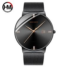 Men Watch <b>Stainless Steel Classical</b> Business Waterproof Top ...