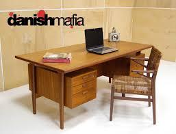 huge mid century danish modern teak kai kristiansen office desk century office