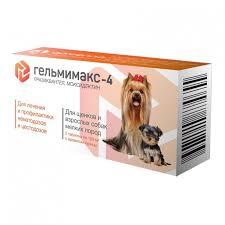 <b>Apicenna</b> Api-san <b>Гельмимакс</b>-<b>4 для</b> щенков и собак мелк пор ...