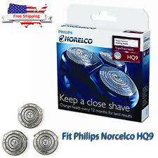 Philips <b>Norelco Silver</b> Electric <b>Shaver Replacement Shaver</b> Heads ...