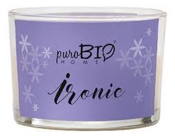 <b>Ароматическая свеча</b> Ironic 120г puroBIO купить, цена на ...