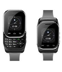 kenxinda black digital rubber casual dual sim smart watch for men