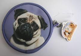 pug purse with image both sides ideal christmas gift for <b>pug lovers</b>