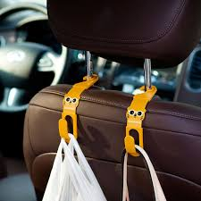 <b>Universal Car Seat</b> Back Seat Headrest Hanger Storage Hooks For ...