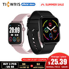 <b>TICWRIS GTS Real Time Body</b> Temperature Smart Watch Heart ...