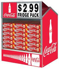 convenience store beverage merchandising displays retail coke steel master